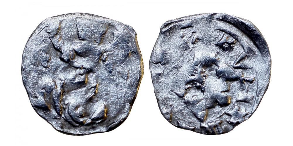Károly Róbert 1307-42 denár ÉH 373