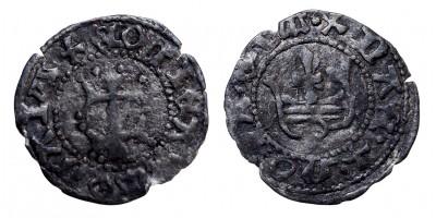 Mária 1382-87/1395 denár EH 443 R!