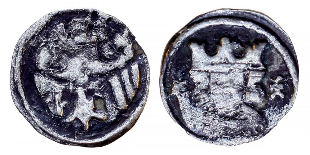 Károly Róbert 1307-42 denár ÉH 390 R!