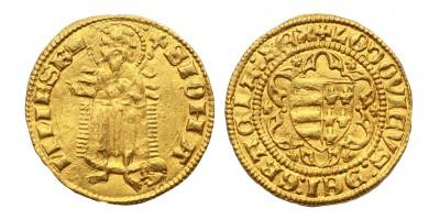 I. Lajos aranyforint ÉH 406