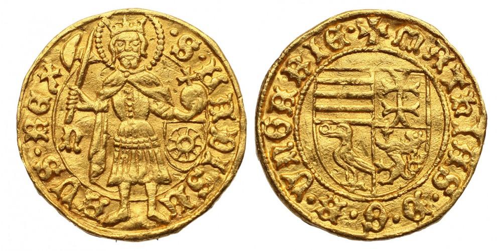 I. Mátyás aranyforint ÉH 531