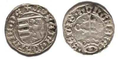 I. Mátyás 1458-90 denár C-S ÉH 557