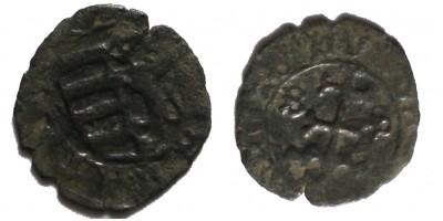 I. Mátyás 1458-90 denár B-S ÉH 557