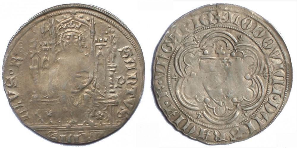 I. Lajos 1342-82 garas ÉH 523 RRR!