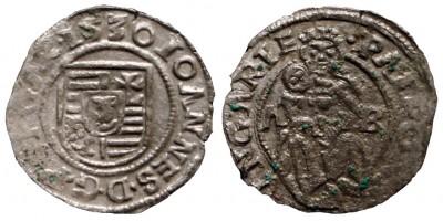 Szapolyai János denár 1530 ÉH 699