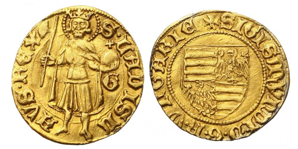 Zsigmond aranyforint ÉH 445