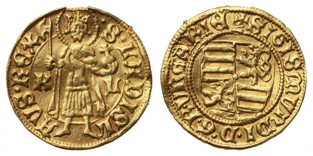 Zsigmond aranyforint ÉH 446