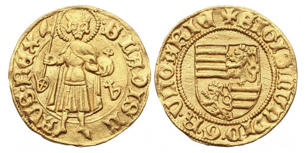 Zsigmond 1387-1437 aranyforint ÉH 446
