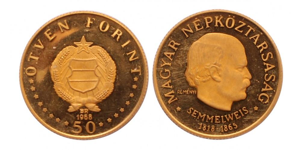Semmelweis 50 forint 1968