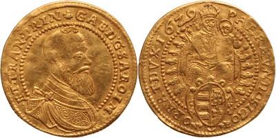 Erdély Bethlen Gábor aranyforint 1629 NB