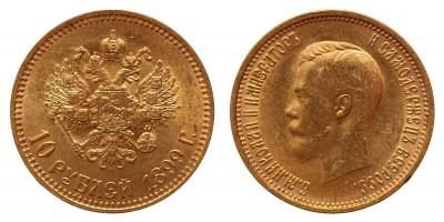 Oroszország 10 rubel 1899