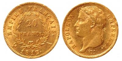 Francia 20 francs 1812 A