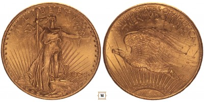 USA 20 dollár 1924