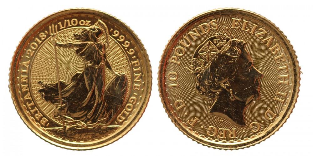 Egyesült Királyság 10 font 2018