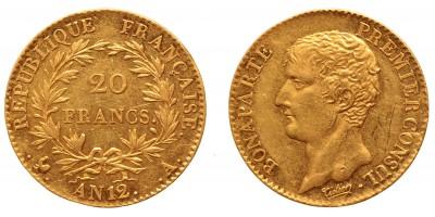 Franciaország 20 francs 1803 A (AN12)