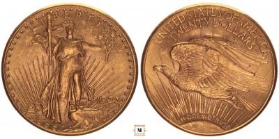 USA 20 dollár 1923