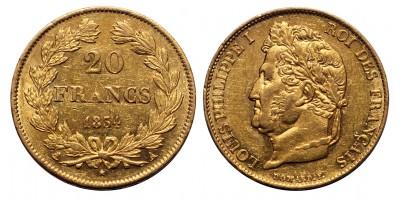 Franciaország 20 Francs 1834 A
