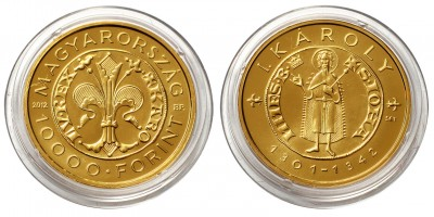 I.Károly 10000 forint 2012 PIEFORT