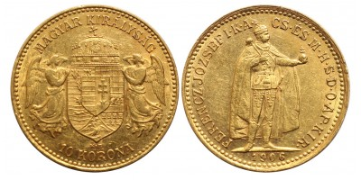 Ferenc József 10 Korona 1906