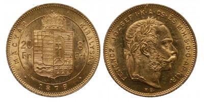 Ferenc József 8 Forint 1879 KB