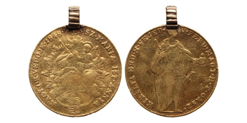 Szabadságharc arany dukát 1848 jn.