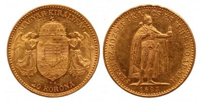 20 korona 1893