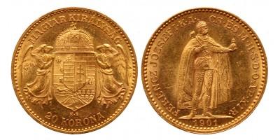 20 korona 1901