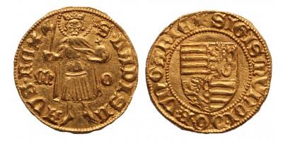 Zsigmond aranyforint M-O Buda ÉH 446