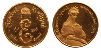 Erzsébet Királyné halálának 100. évfordulójára 1998