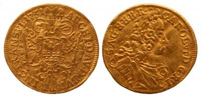 Erdély III.Károly dukát 1731