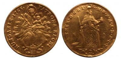 Mária Terézia 2 dukát 1765 KB-KD