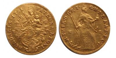 Mária Terézia ducat 1765 KB-KD