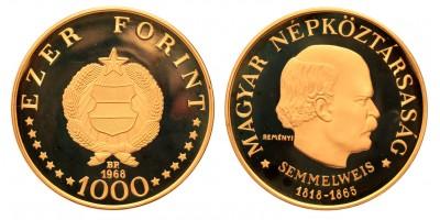 1000 forint Semmelweis 1968 BP