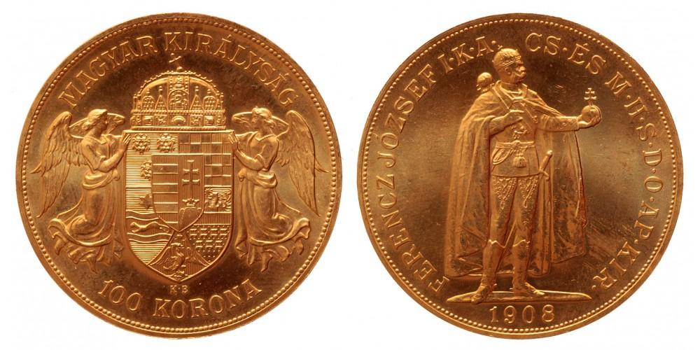 100 korona 1908 Artex