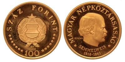 100 forint Semmelweis 1968 BP