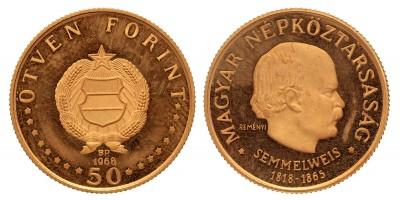 50 forint Semmelweis 1968 BP