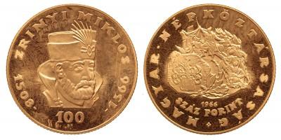 100 forint Zrínyi Miklós 1966