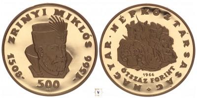 500 Forint Zrínyi Miklós 1966