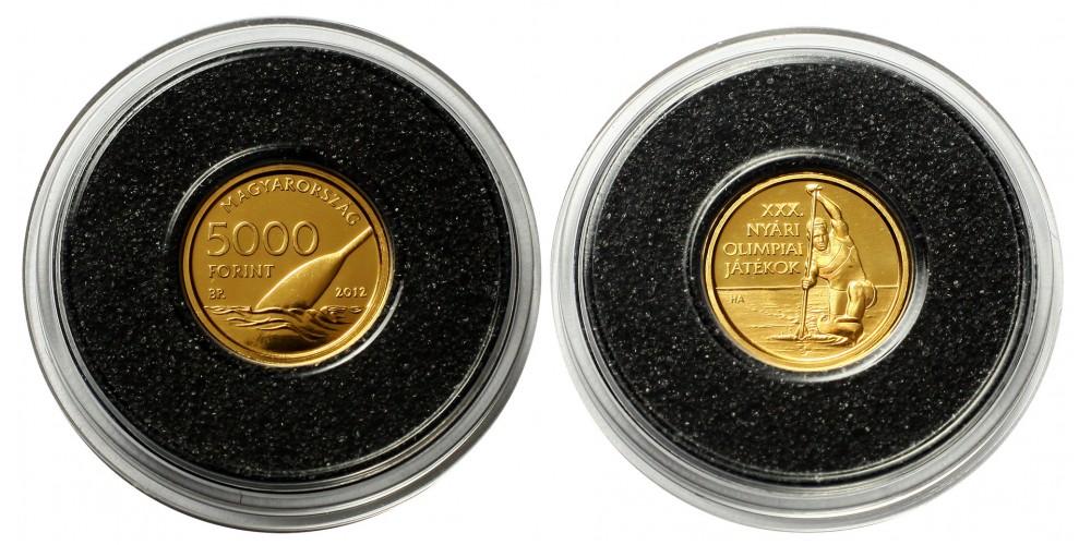 XXX.Olimpia 5000 forint  2012