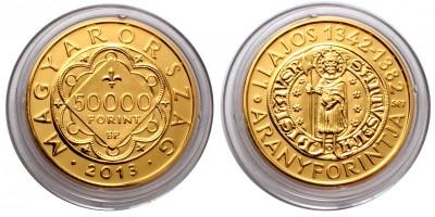 I.Lajos 50000 forint 2013
