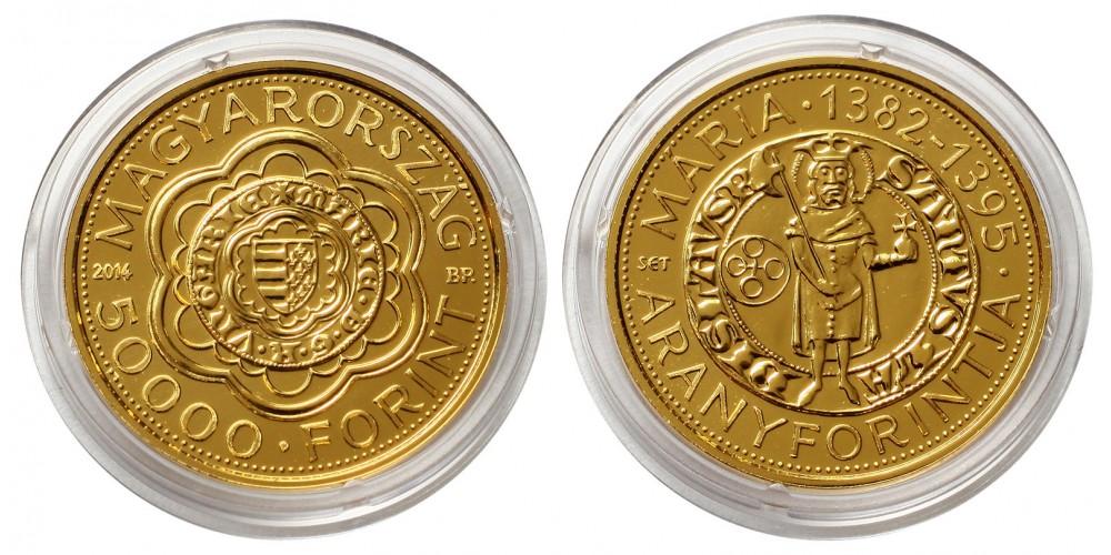 Mária 50000 forint 2014