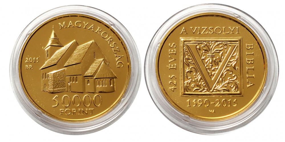 A Vizsolyi biblia  50000 forint 2015