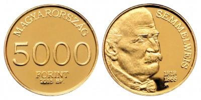Semmelweis I 5000 forint 2015