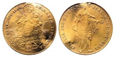 V.Ferdinánd Szabadságharc Dukát 1848 KB