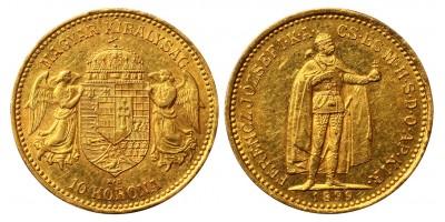 Franz Joseph 10 Korona 1899 KB