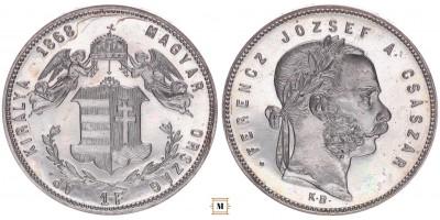 1 Forint 1868 KB ARTEX