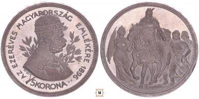5 korona 1896 UP