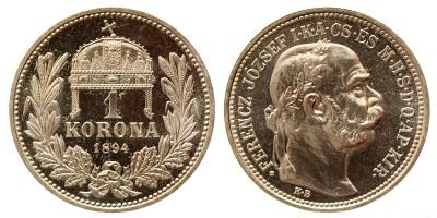 1 korona 1894 Artex