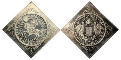Szent László 5 Pengő 1929 U.P. Csegely