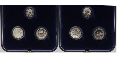 IV.Károly  Centenáriumi ezüst korona-fillér szett 1916-2016